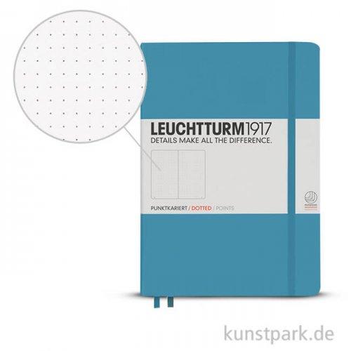 Leuchtturm Notizbuch Hardcover - Nordic Blue - Dotted