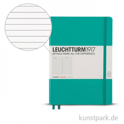 Leuchtturm Notizbuch Hardcover - Smaragd - Liniert