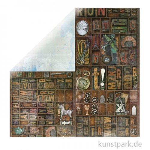 Life In Color - Scrapbookingpapier 190 g | Hidden Treasures