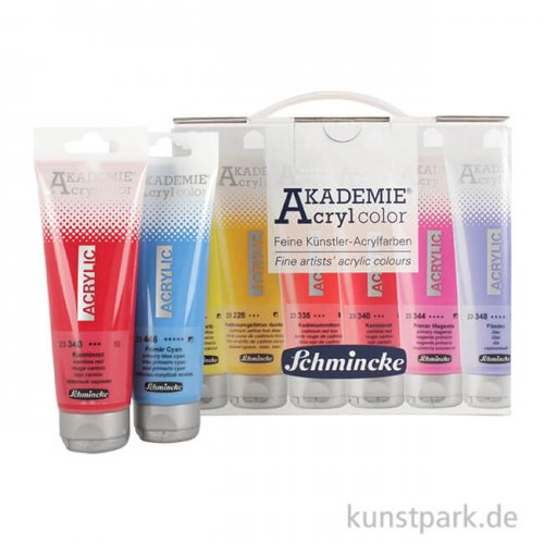 LIMITED Edition - Schmincke AKADEMIE Acrylfarben Box mit 20 x 120 ml