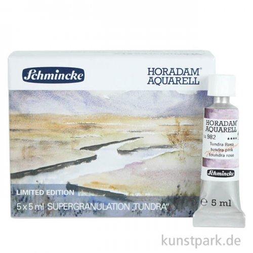 LIMITIERT Schmincke Horadam Aquarell Supergranulierend Tundra - Set 5 x 5 ml