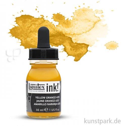 Liquitex Professional ACRYLIC INK 30 ml Einzelfarbe | Gelborange Azo