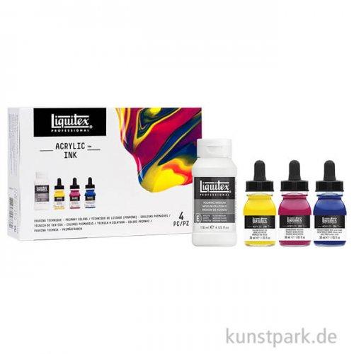 Liquitex Professional ACRYLIC INK Technik Set mit 3 Primärfarben 30 ml