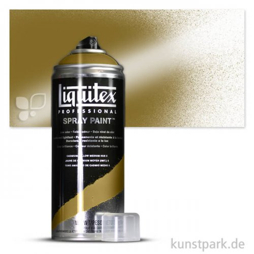 Liquitex Spray Paint - Farbspray 400 ml Einzelfarbe   0237 Irisierendes Antik Gold