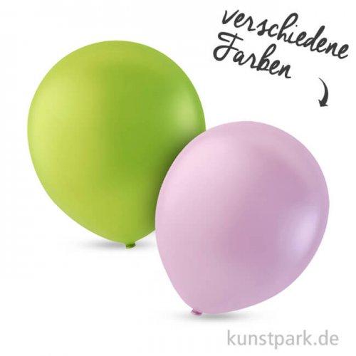Luftballons rund, Größe 23 cm