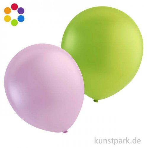 Luftballons - rund in vielen Farben sortiert