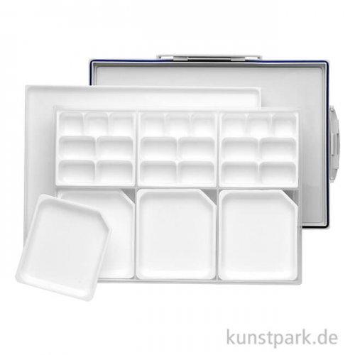 Luftdichte Palettenbox für Acrylmaler, Farbe ablösbar