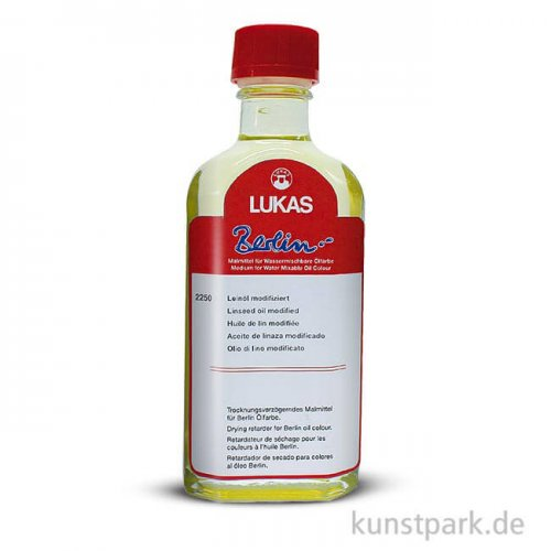 Lukas BERLIN Leinöl, wasser, Trocknungsverzögerer 125 ml