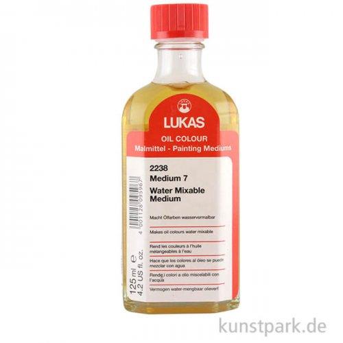 Lukas Malmittel 7 macht klassische Ölfarbe wasservermischbar, 125 ml