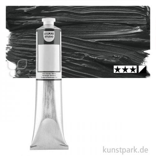 Lukas STUDIO Ölfarben 200 ml | 0382 Elfenbeinschwarz