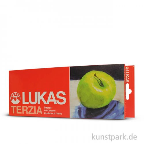 Lukas TERZIA Ölfarben Sortiments-Karton mit 12 Tuben 12 ml