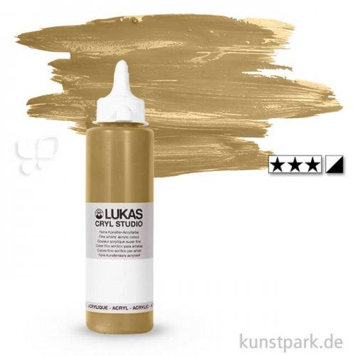 LukasCryl STUDIO Acrylfarbe 250 ml Flasche | 4632 Karamell