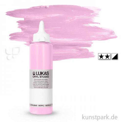 LukasCryl STUDIO Acrylfarbe 250 ml Flasche | 4649 Rosa