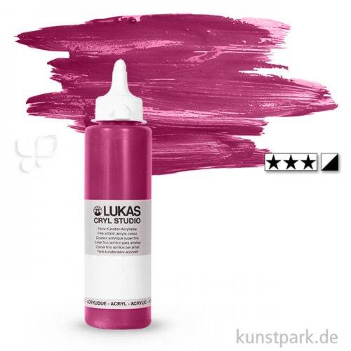 LukasCryl STUDIO Acrylfarbe 250 ml Flasche   4650 Magenta Primärrot