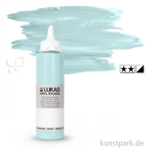 LukasCryl STUDIO Acrylfarbe 250 ml Flasche | 4723 Arktis