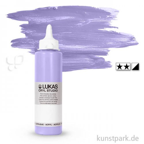 LukasCryl STUDIO Acrylfarbe 250 ml Flasche | 4730 Lavendel