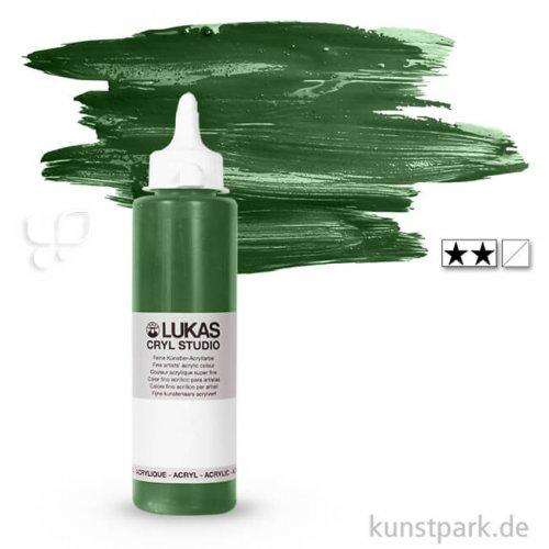 LukasCryl STUDIO Acrylfarbe 250 ml Flasche | 4765 Saftgrün