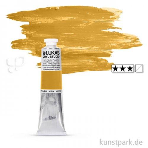 LukasCryl STUDIO Acrylfarbe 75 ml Tube | 4612 Gold