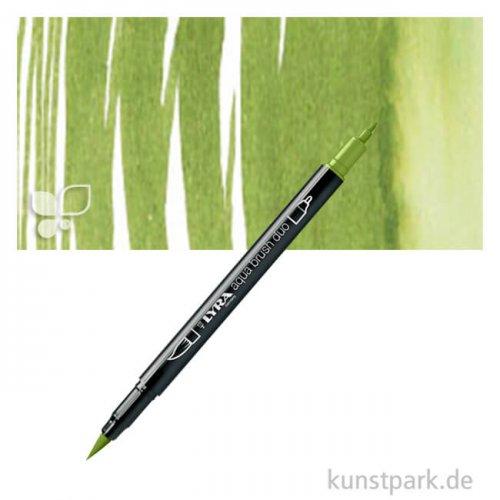 Lyra Aqua-Brush DUO Faserstifte Einzelstift   Chromgrün