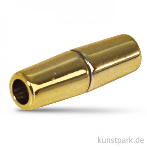 Magnetschließe Olive für 5mm Band, 28x9 mm