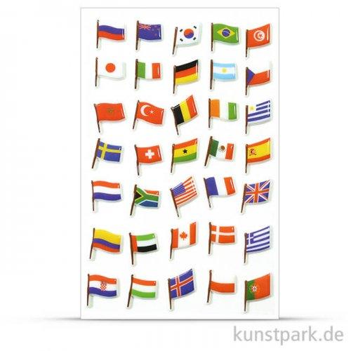 Maildor Cooky Sticker - Flaggen