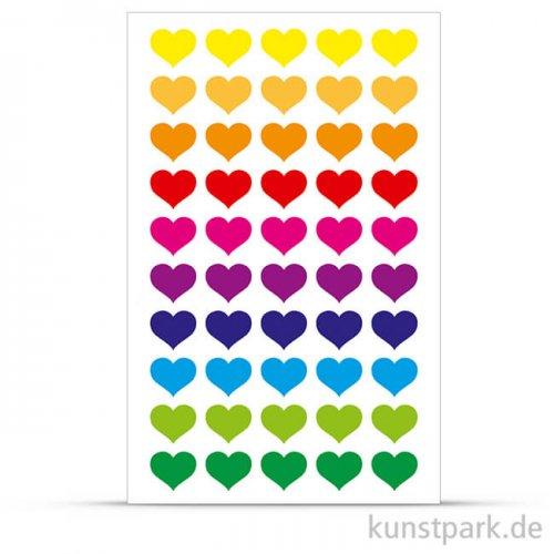 Maildor Cooky Sticker - Herzen bunt