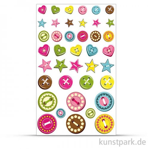 Maildor Cooky Sticker - Knöpfe