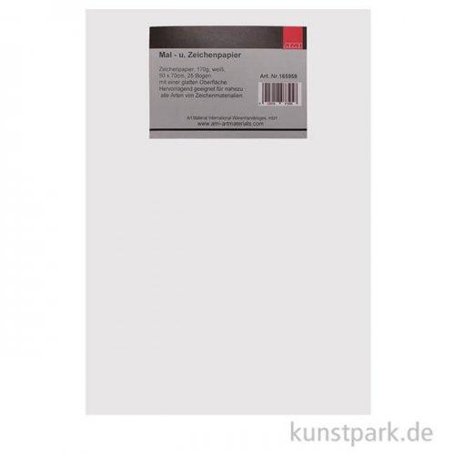 Mal- und Zeichenpapier Universal 50x70 cm, 170g