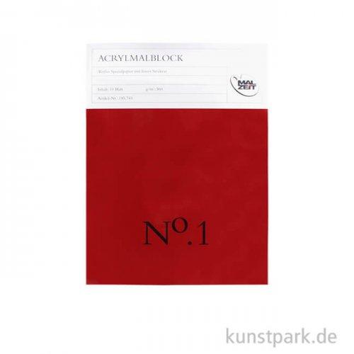 Malzeit Acrylmalblock Nr.1, 10 Blatt, 360 g 30 x 40 cm