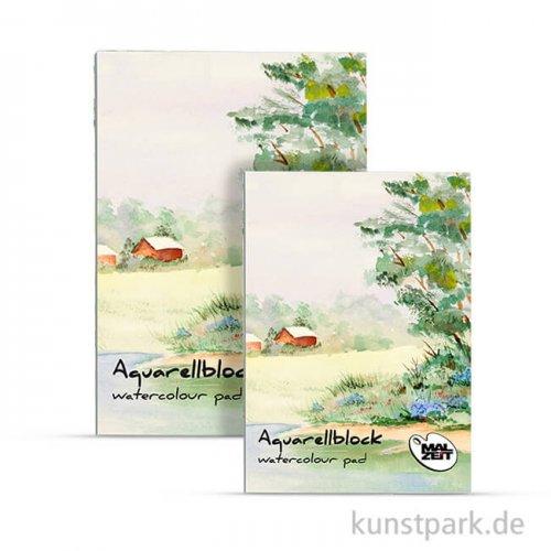 Malzeit Aquarellblock BASIC, 10 Blatt, 210 g, rauh DIN A4