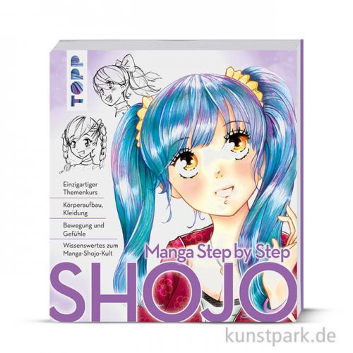 Manga Step by Step Shojo, Topp Verlag