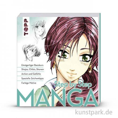 Manga Step by Step , Topp Verlag