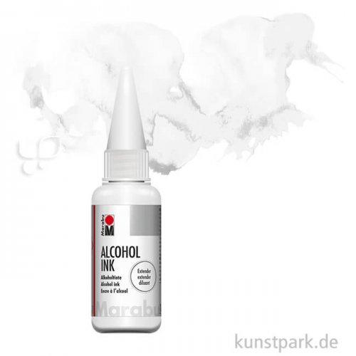 Marabu Alcohol Ink - Alkoholtinte, 20 ml Einzelfarbe   Extender