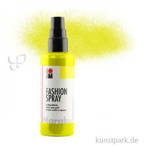 Marabu FASHION Spray 100 ml Einzelfarbe   020 Zitron