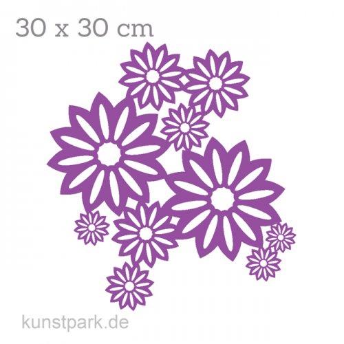 Marabu Schablone Silhouette 30x30 cm - Wild Blossom