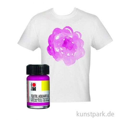Marabu Textil Aquarelle 15 ml | Pink