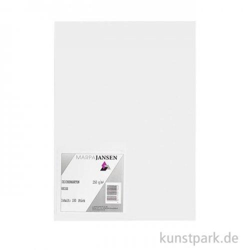 Marpa Jansen Zeichenkarton 100 Blatt, 250g