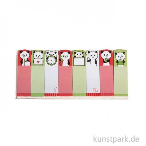 Memo-Stickers - Panda, 8 Motive