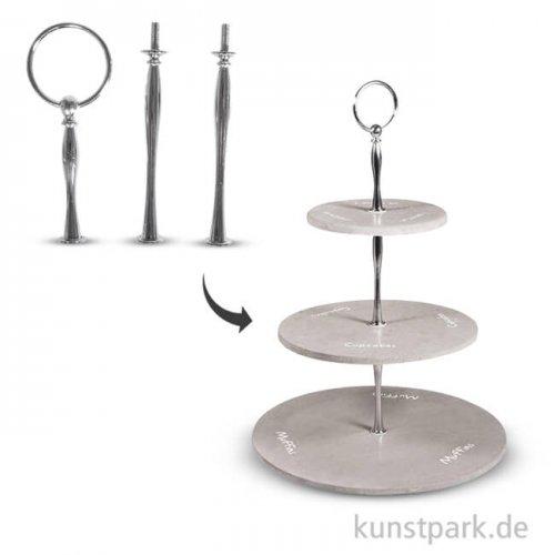 Metall Etageren Bausatz - Classic, 9 teilig