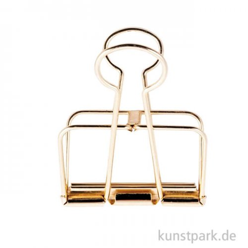 Metall Klammer - Gold