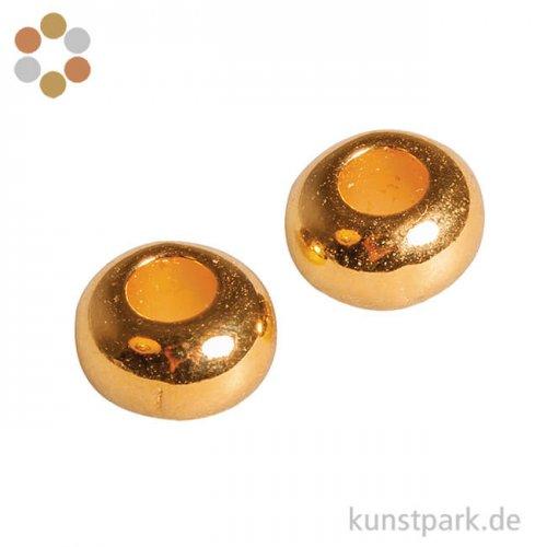 Metall-Perle 6 mm, 6 Stück