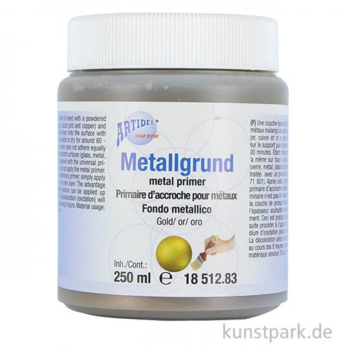 Metallgrundierung Gold