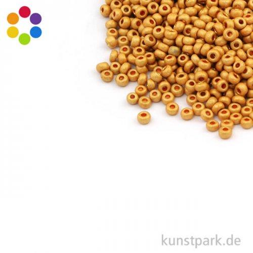 Metallic-Rocailles matt - 2,6 mm - 17 g