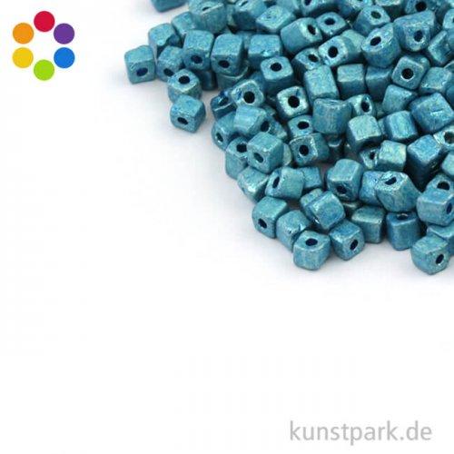 Metallic-Würfel matt - 3,4 mm
