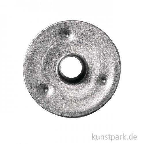 Metallplättchen für Dochte, 15 mm, 50 Stück