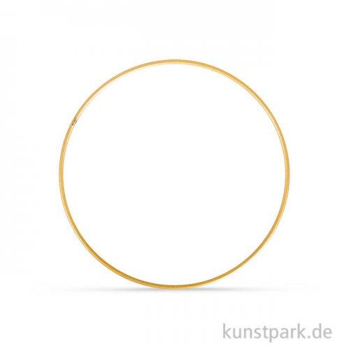 Metallring beschichtet - Gold 15 cm