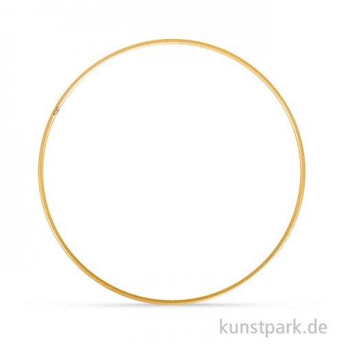 Metallring beschichtet - Gold 25 cm