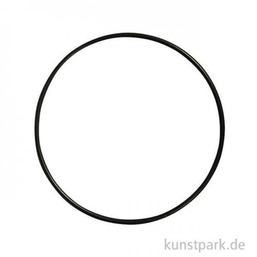 Metallring beschichtet - Schwarz 20 cm