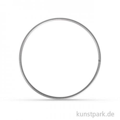 Metallring beschichtet - Silber 25 cm