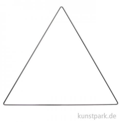 Metallring Dreieck - Anthrazit